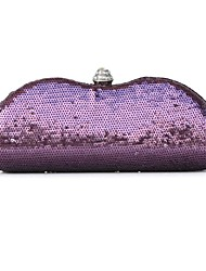 Metal Wedding / Special Occasion Clutches / Evening Handbags with Sequins
