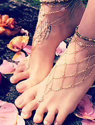 Alloy Decorative Chain Accents for Shoes One PCS