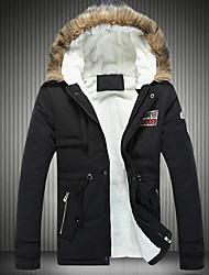 Xibolai men's Fashion Hoodie Leisure Big Size Warmth Cotton Coat
