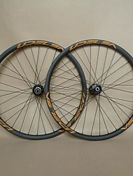 UDELSA 26er Carbon Wheels Clincher 25mm Deep 25mm Wide Mountain Bicycle Wheelset