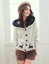 Women's Casual Fleece Lining Hooded Sweaters(More Colors)