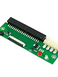"ZIF CE 1.8 micro drive 50 broches de 3,5 ""IDE pc adaptateur 40 broches avec câble"