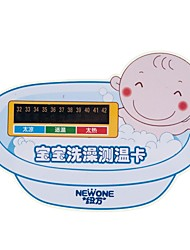Safety Digital Infant Baby Bath Tub Water Temperature Test Thermometer Sticker