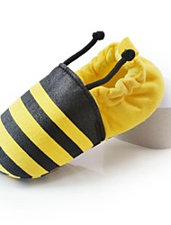 Girls' Flats Spring Summer Fall Winter First Walkers Crib Shoes Cotton Outdoor Casual Gore Yellow