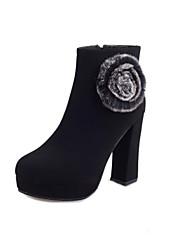 Zhuoyue Women's Fashion Stiletto Heel Boots
