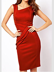 VERYM Women's Long Sleeve Mesh Slim Bodycon Dresses