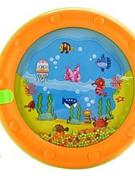 vagues de tambour avec anneau tiges de battement de bébé jouets de cloche