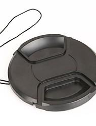 dengpin® caméra 52mm bouchon d'objectif pour pentax k-30 k5 k7 k5iis kr kx k50 avec objectif 18-55mm + une corde porte-leash