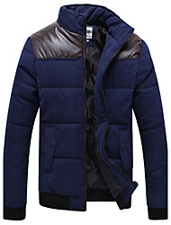 gola casaco fashion homens térmica Jianda