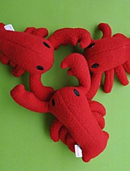 Lovely Christmas Gift Crayfish Shape Vocal Toy for Pets Dogs