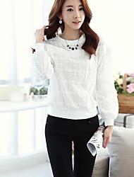 Women's  Embroidered Render Unlined Upper Garment of A T-Shirt