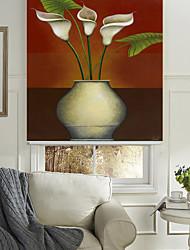 classico elegante vaso fiori a grappolo rullo ombra