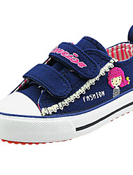 Sneakers de diseño ( Azul/Rosado ) - Comfort/Punta cerrada - Lienzo
