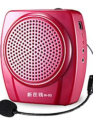 Loudspeaker Voice Amplifier Megaphone for Teachers Tour Guide TF USB AUX MP3 FM NEWONLINE N93