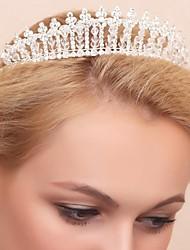 Women's Crystal/Alloy/Cubic Zirconia Headpiece - Wedding/Special Occasion Tiaras