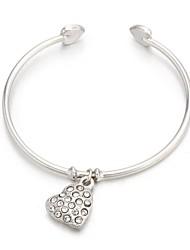 Women's Cuff Bracelet Cubic Zirconia/Alloy Cubic Zirconia