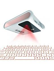 projeção a laser Bluetooth sem fios teclado virtual teclado sem fio icyberry com banco de potência 7800mAh