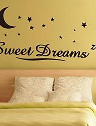 jiubai® cita dulce sueño etiqueta de la pared etiqueta de la pared