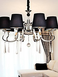 40 Chandelier ,  Traditional/Classic Nickel Feature for Candle Style Metal Living Room / Dining Room
