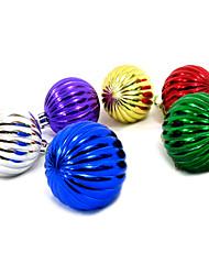 Multi-color Christmas Balls Decoration-Set of 6(Random Color)