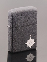 Creative Windproof Metal Butane Jet Gas Lighter