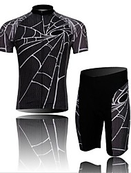 WEST BIKING® Cycling Jersey with Shorts Men's Short Sleeve Bike Breathable / 3D Pad / Reflective StripsArm Warmers / Jersey / Jersey +