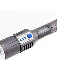 Outdoor Multi-function Flashlight With USB Charging Output Port and Electric Digital Display and Can be Directly Charged