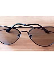 Metal Frame General Reald Circular Polarized 3D Glasses,3D Tv Cinema/Passive No-Flash 3D