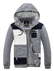 Men's Long Sleeve Hoodie & Sweatshirt , Cotton Pure