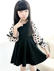 Girl's Cute Dot Dress