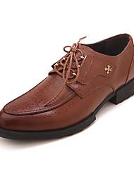 TPU Brown Dress Shoes