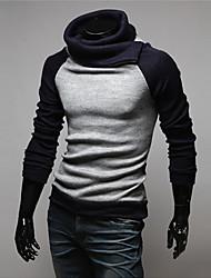 WANT Men's Long Sleeve Slim High Neck Sweater