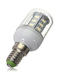 5W E14 Lâmpadas de Foco de LED 27 SMD 5730 450-500 lm Branco Quente / Branco Frio AC 220-240 V