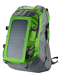 Conbrov 6.5 Watt Solar Backpack with Built-in Solar Charging Panel with Waterproof Coating Transfer Rate : 22% -green-