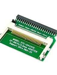 "cf tarjeta merory compact flash a 44pin 2,5 ""pulgadas disco duro IDE adaptador convertidor ssd"