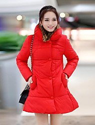 Women's Single Breast Slim Thicken DownCoat(More Colors)