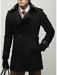 Men's Fashion Double-Breasted Dust Coat