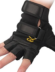 Cycling Gloves fingerless Outdoor Tactical Breathable Cycling Leather  Half Finger Gloves