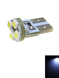 merdia 4W 110lm t10 4x3528smd LED branco de licença luz da placa luz / lâmpada de instrumento (1 pcs / 12v) PCB + 4 conduziu