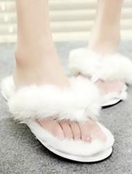 scarpe da donna slingback tacco piatto appartamenti sintetici calza più colori disponibili