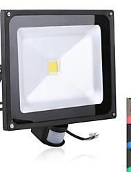Projecteurs LED Capteur Rouge / Bleu / Vert 1 LED Haute Puissance 2900 LM AC 85-265 V
