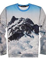go-boy Herrenmode 3d gedruckt kreative Top-T-Shirt