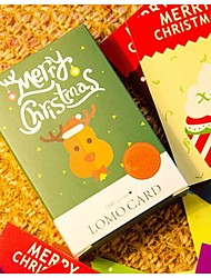 Merry Christmas LOMO Message Card (Set Of 56)