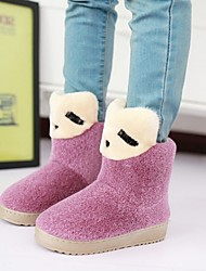 Women's Wedge Heel Round Toe Boots (More Colors)