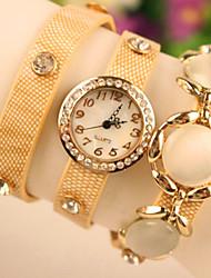 xintianshi женщин пряжки сплава часы