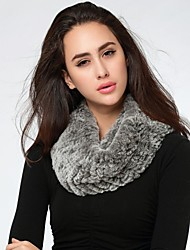 Women Rabbit Fur Shawl & Wrap/Accessory