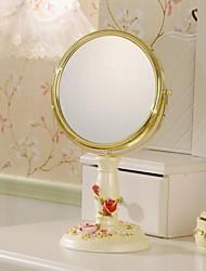 """haoxinyi® 14 """"h maquillage de style moderne de miroir de polyrésine deux côtés"""