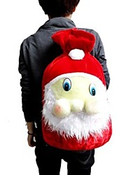 Santa mochila véspera reunindo saco do presente