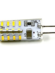 Luces LED de Doble Pin G4 2W 32 SMD 3014 100~120 LM Blanco Cálido / Blanco Fresco V