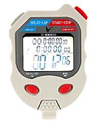 30 1 / 100s souvenirs 3 ligne de temps 10h à rebours&calendrier chronomètre numérique pour saut de sport pc510